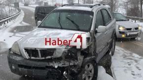 izmit - kandıra yolunda kaza 3 yaralı