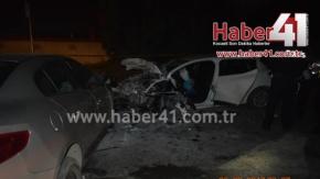 Şekerpınar'da Feci Kaza 7 yaralı