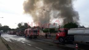 Darıca Bayramoğlu'nda Korkutan Yangın