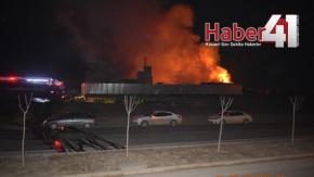 Gebze Kirazpınar#039;da Korkutan Yangın