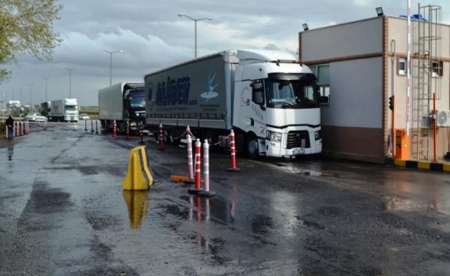 Sınır Kapıları  yolcu giriş  çıkışlarına kapatıldı