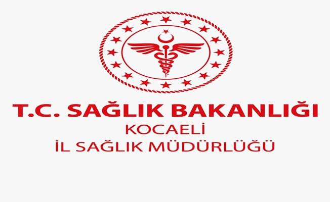 Kocaeli İl Sağlık Müdürlüğü Açıklama Yaptı