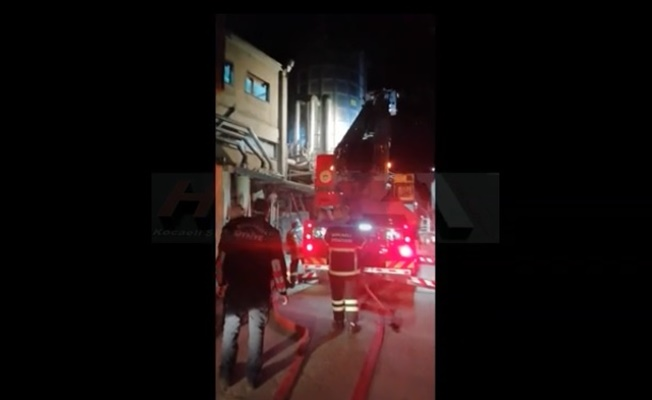 Mobilya fabrikasında yangın korkuttu!