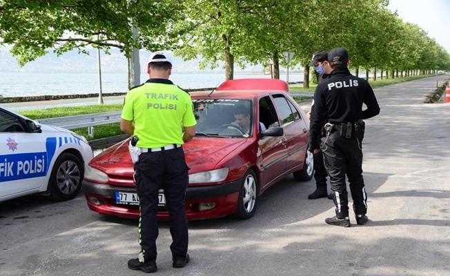 Koronavirüs Huzur uygulamasında 139 şahsa ceza kesildi