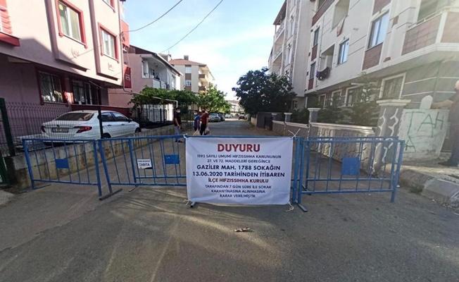 Gebze ilçesinde bir sokak karantinaya alındı!
