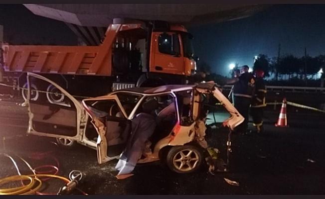 Gebze'de feci zincirleme kaza: 3 ölü 4 yaralı