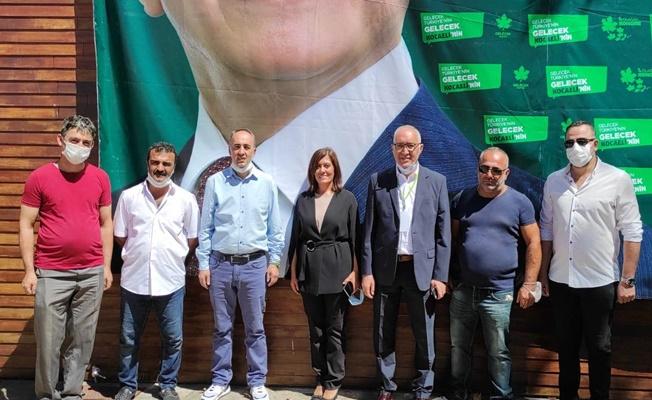 Gelecek Gelecek Partisi Kocaeli İl Başkanlığı 1.Olağan kongresi dün gerçekleştirildi