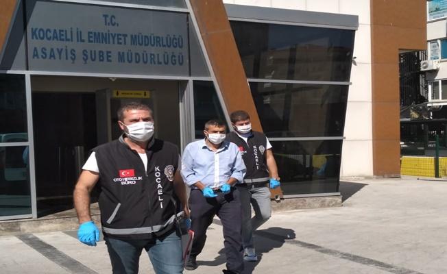 İstanbul'da çaldı Kocaeli'de yakalandı