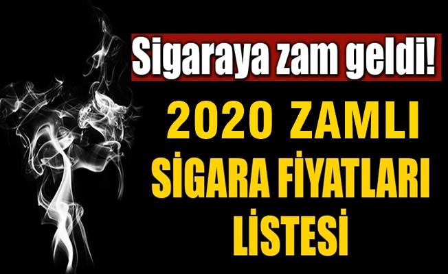 2020 zamlı sigara fiyatları listesi