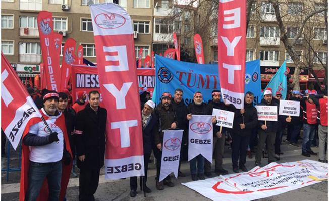 EYTliler Gebze'de Basın Açıklaması Yapacak