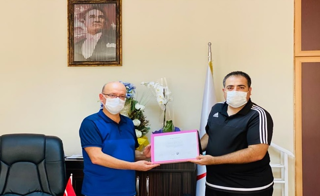 Gebze İlçe Sağlık Müdürlüğü personeli Beşer , Uluslararası bilişim sertifikası sahibi oldu