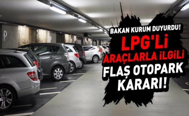 LPG'li araçlar artık AVM otoparklarını kullanabilecek