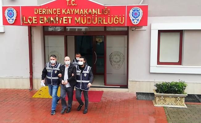 25 yılla aranan şahıs Derince'de yakalandı !