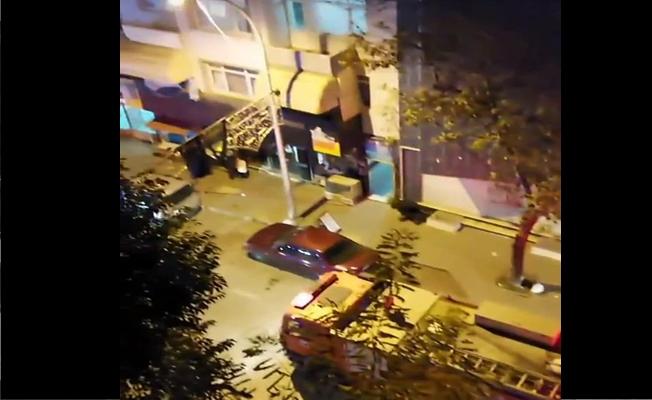 Apartmanda doğalgaz patlaması yaşandı !