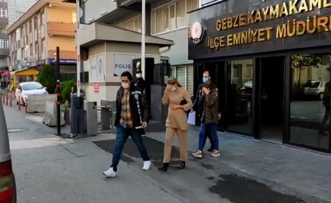 Gebze'de kadın hırsızlar yakalandı!