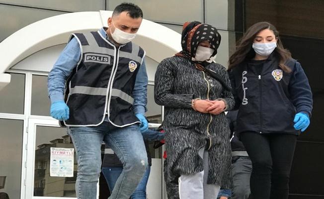 Kadın hırsızlar suç üstü yakalandı !