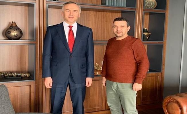 Gencer,Hukukçular Derneği Genel Başkanını ziyaret etti