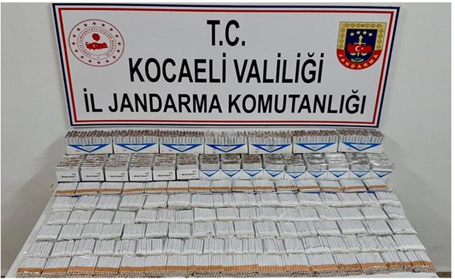 Jandarma'dan kaçak sigara operasyonu!