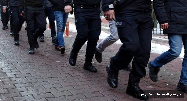 40 İlde dev operasyon : 718 gözaltı