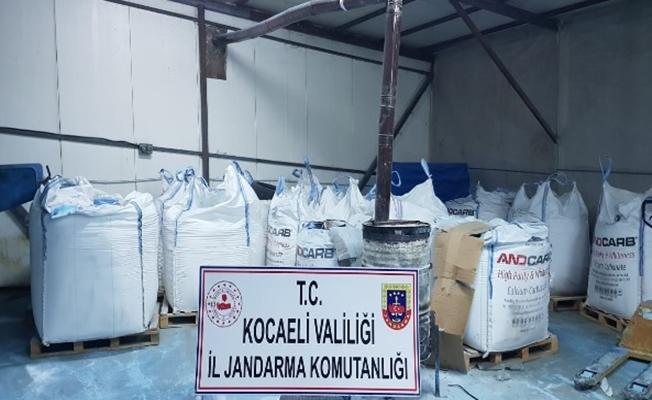Jandarma'dan Sahte tarım ilacı üreten depoya baskın!