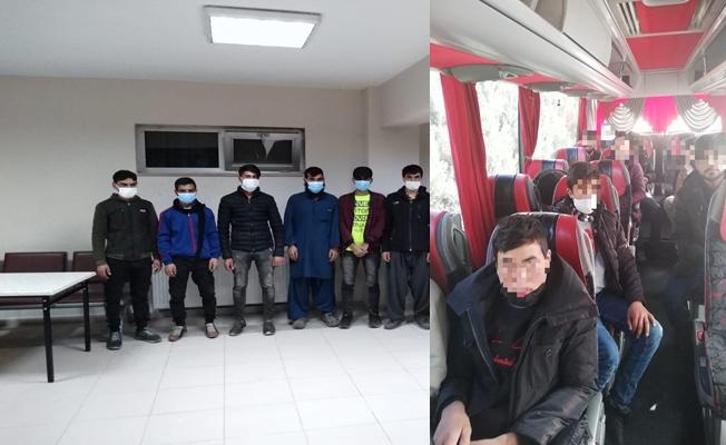 Kocaeli'de 19 düzensiz göçmen yakalandı!