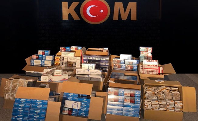 Kocaeli'de toplam 181 bin makaron ele geçirildi!