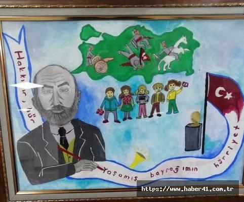 Yarışmada Osmangazi Ortaokulu 1'inci oldu