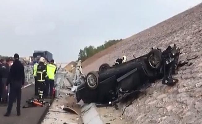 Konsolosluğa ait araç kaza yaptı;4 ölü!