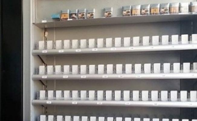 Marketten 20 bin liralık sigara çalındı!