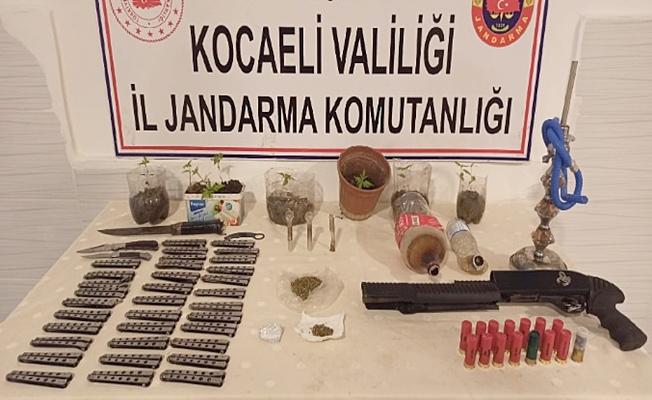 Jandarmadan 4 ilçede uyuşturucu operasyonu