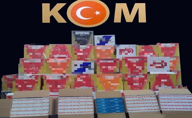 Kocaeli'de 390 bin adet makaron ele geçirildi