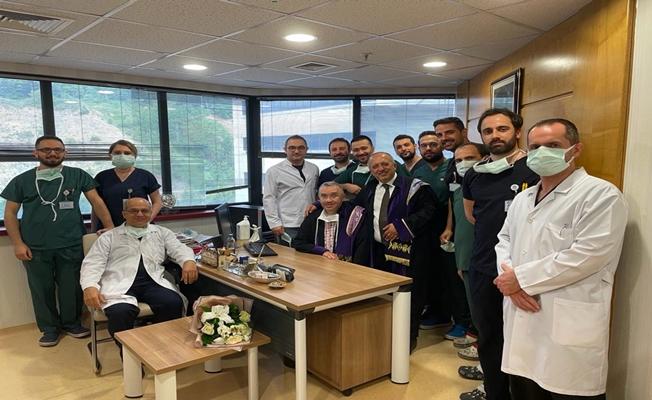 Kocaeli Üniversitesi Hastanesi'nde devir teslim