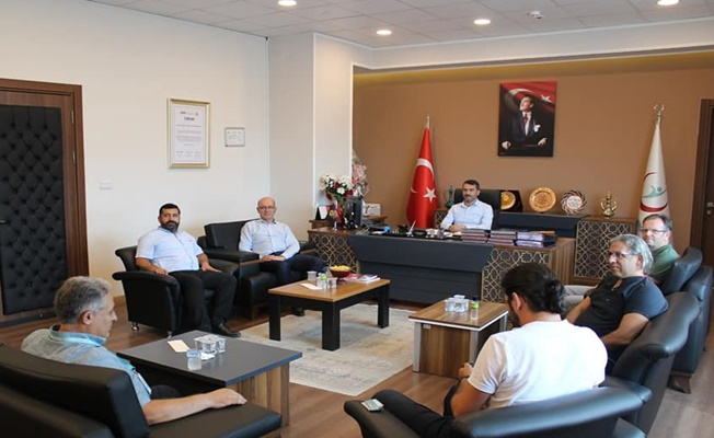 İlçe Sağlık Müdürlülerinden Dr.İlyas Sarı'ya Ziyaret