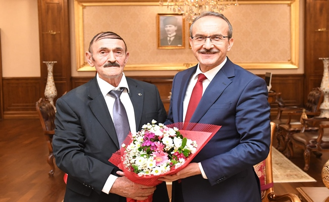 Kadıoğlu ilk ziyaretini Vali Yavuz'a yaptı