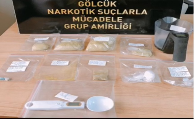 Kocaeli'de uyuşturucu operasyonu: 4 tutuklama