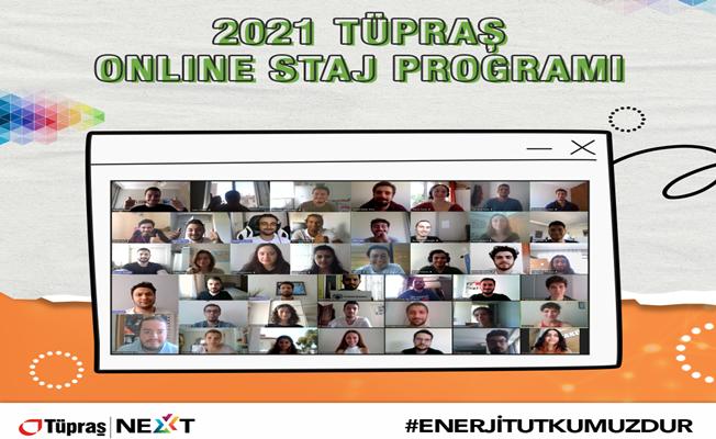 Tüpraş, Üniversite Öğrencileri ile Online Staj Programı'nda Buluşmayı Sürdürüyor
