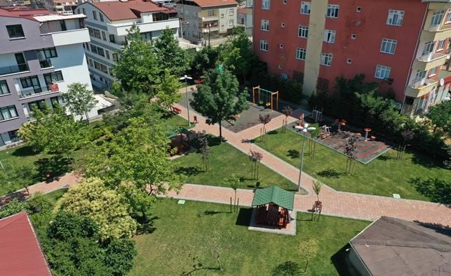 Çayırova Şehitlik Parkı yenilendi !