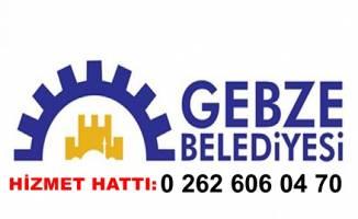 Gebze Belediyesi Hizmet Hattı: 0 262 606 04 70