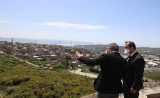 Çakmak ve Şayir, Seyir Terası projesini incelediler