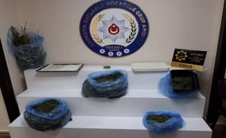 Darıca'da uyuşturucu imalathanesi olan eve baskın