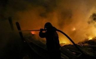 Dilovası'nda fabrikada çıkan yangın korkuttu