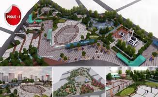 Kent meydanı projesi halkın beğenisine sunuldu
