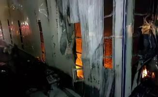 Dilovası OSB'de fabrika yangını!