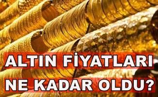Altın fiyatları ne kadar oldu?Çeyrek altın ne kadar?