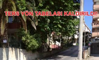 Fahri Trafik Müfettişi'nin can yaktığı o tabela kaldırıldı