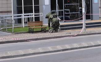 Gebze Belediyesi önünde şüpheli paket paniğe neden oldu!