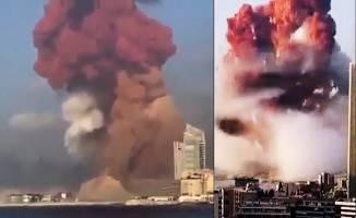 Büyük patlama ! 2 kilometrelik alan yok oldu