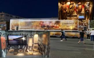 Çanakkale Savaşları Mobil Müzesi Gebze'ye geliyor