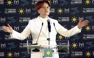Meral Akşener yeniden genel başkan seçildi!