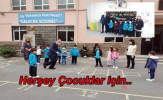 Okul Müdürü Hadi Eroğlu öğrencilerini motive etti!